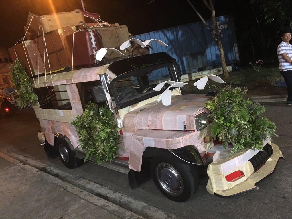 Bakit nandito sa Ynares ang Bridal Jeep nina Clark at Leah? Abangan. #OTWOLTheLastFlight https://t.co/bbKCgIjgby