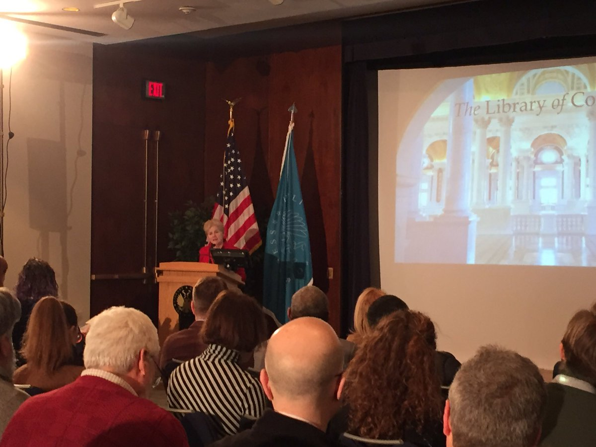 LOC's Jane McAuliffe calls radio 'key part of our social memory' #RPTF #radio https://t.co/bReL37cWEz