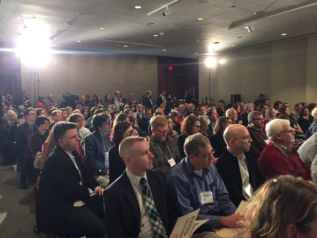 Mumford room is overflowing for #RPTF 'Save America's Radio Heritage' #radio https://t.co/jiiZDEj2OI