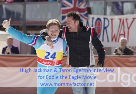 My Interview with @RealHughJackman & @TaronEgerton for @EddieEagleMovie ~ https://t.co/YOSdCuhduL #EddieTheEagle https://t.co/ZuU8z7G1vQ