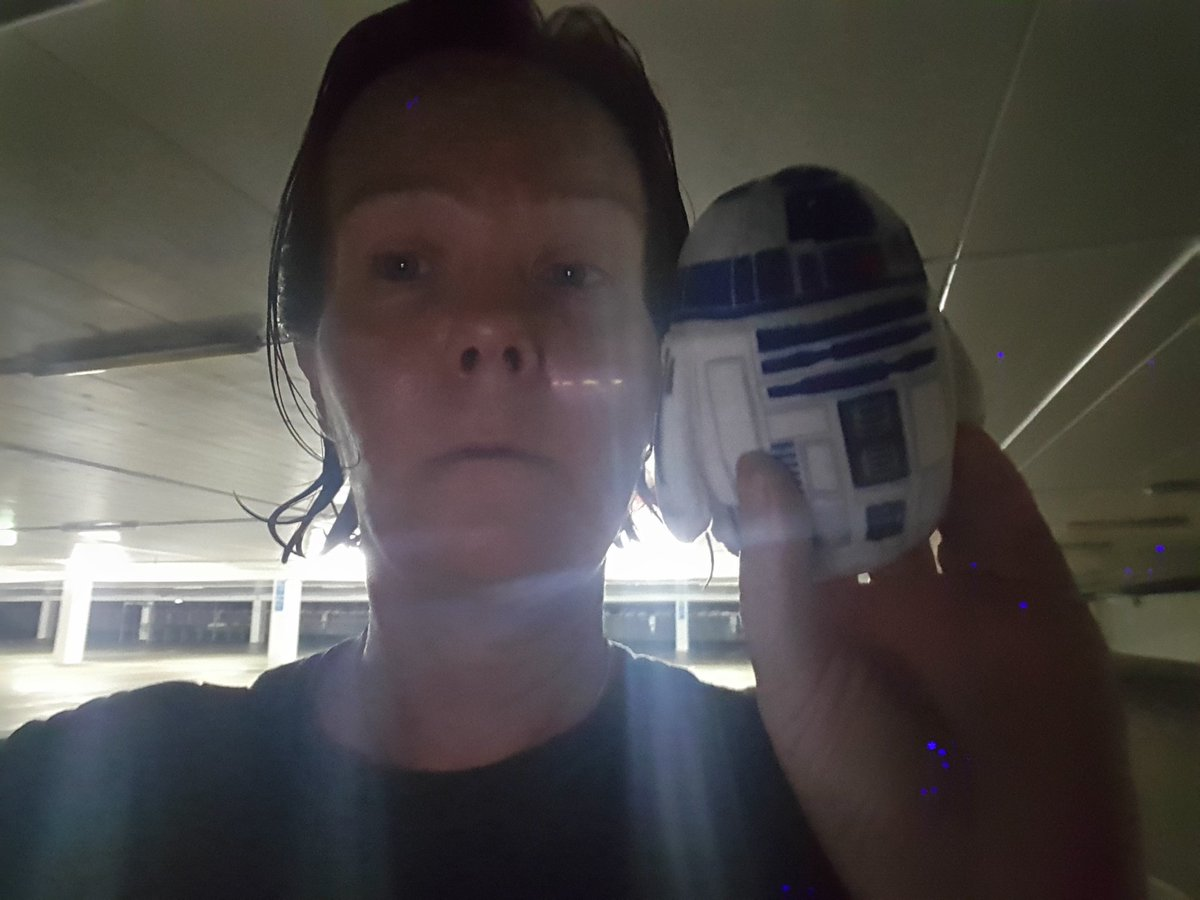 Me and R2 at spooky dart Sylvia Park ready to go #educamprotovegas https://t.co/bGMPXMWH2a