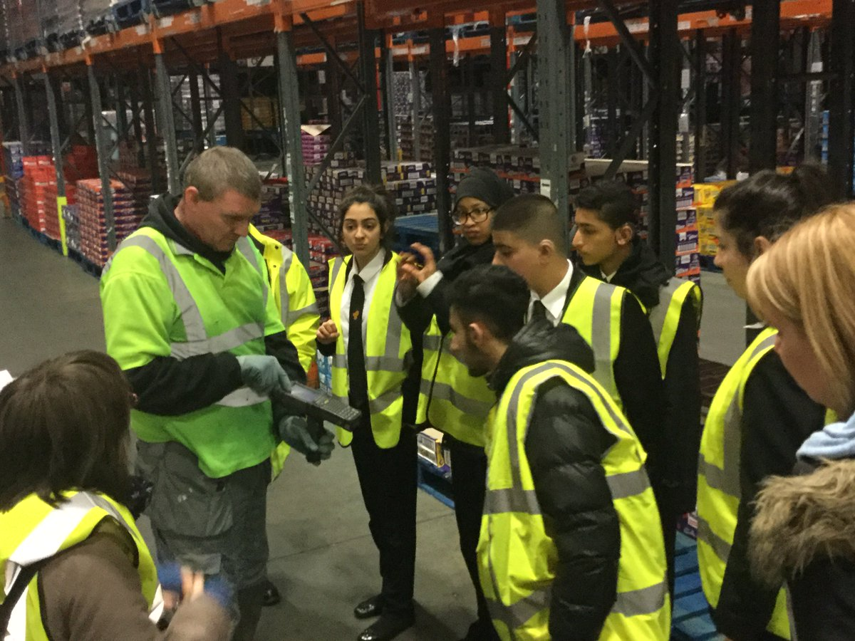 braidwood school on yr had a fantastic morning braidwood school on yr10 had a fantastic morning investigating jobs and work skills at cadbury minworth real learning mdlz cadburyuk
