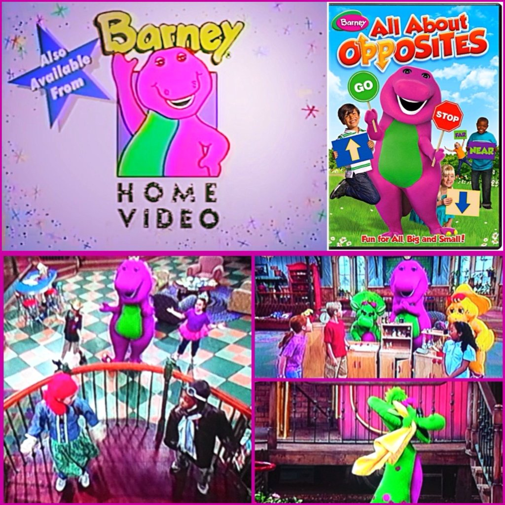 "Matthew DeVincentis On Twitter: ""Another Barney DVD I'm"