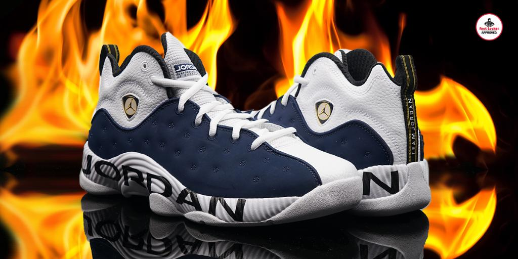 best sneakers 919f7 134d1  footlocker 3 years. check out the jordan jumpman team 2 in navy available  in stores hottestmonth