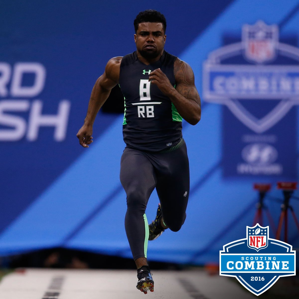 Nfl: It's Running Back Day At The NFL Combine