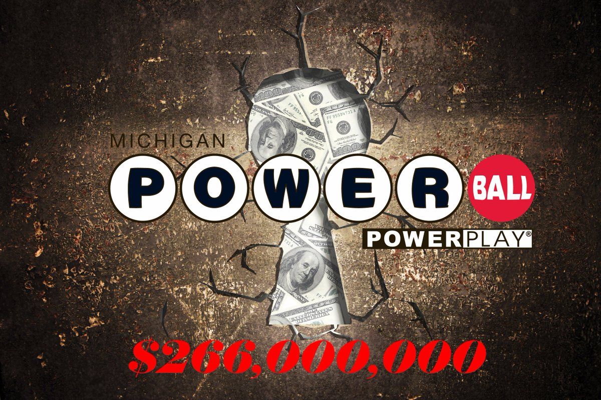 Michigan Lottery On Twitter Tonight S Powerball Jackpot Is Now