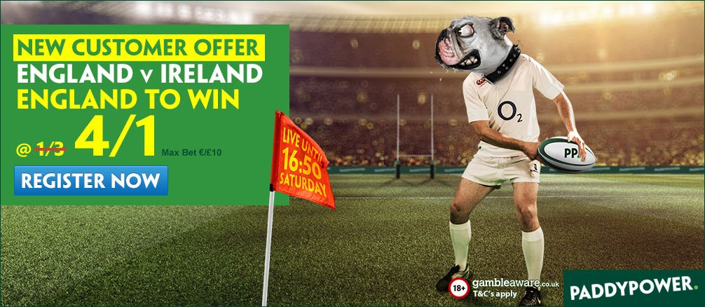 Paddy Power Rugby Boost