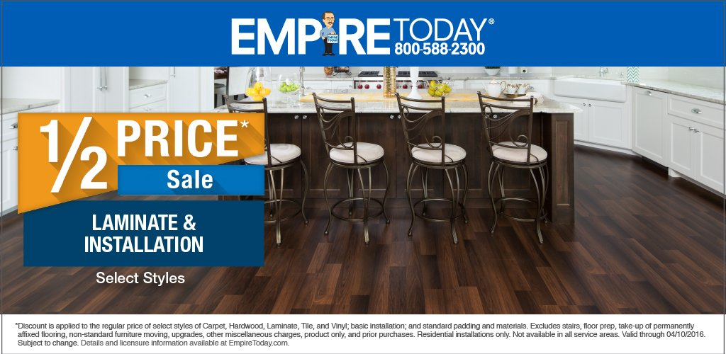 Empire Today On Twitter Get 12 Price On Select Styles Of