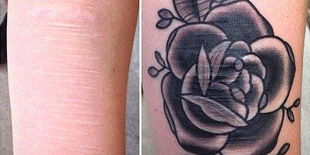 tattoo artist painful harm scars beautiful art | POPSUGAR