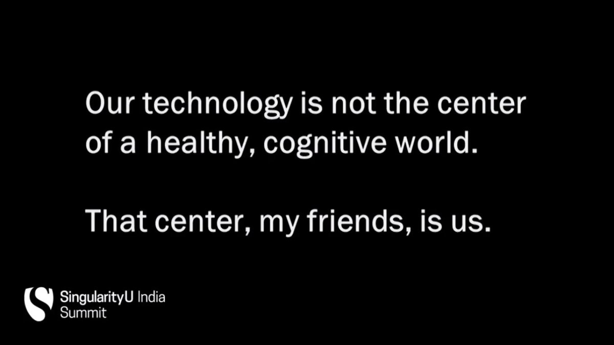 #SUIndiaSummit @jonathanreiber concludes his talk with a powerful philosophy about Technology https://t.co/nTtL3NL9Z8