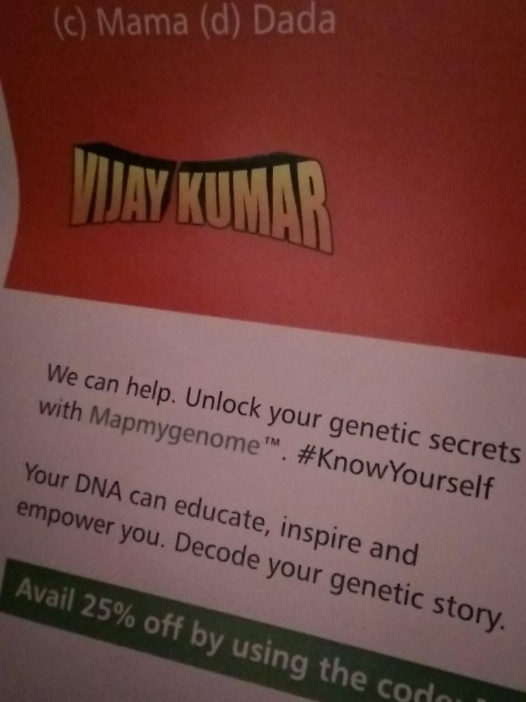 Would you want to know more your DNA?  @mapmygenomein #SUIndiaSummit https://t.co/EE0quzcvAy