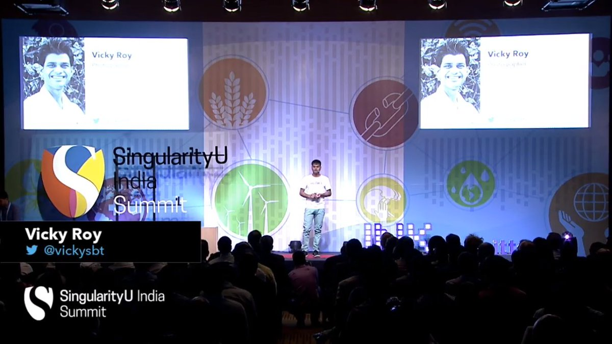 From a rag-picker to a world renowned photographer, @vickysbt describes his journey #SUIndiaSummit https://t.co/UgamByw2aM