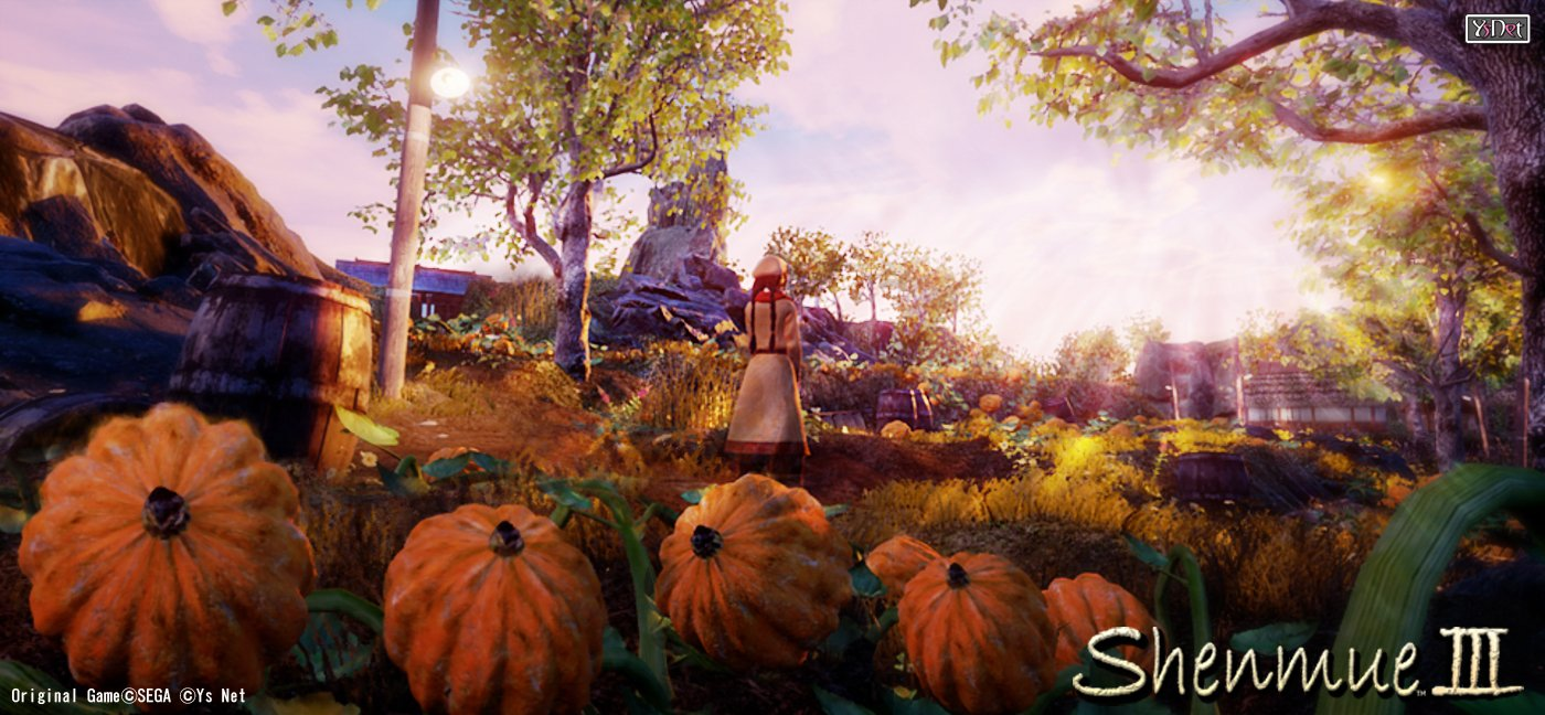 Shenmue III Environment Screenshots Revealed 2