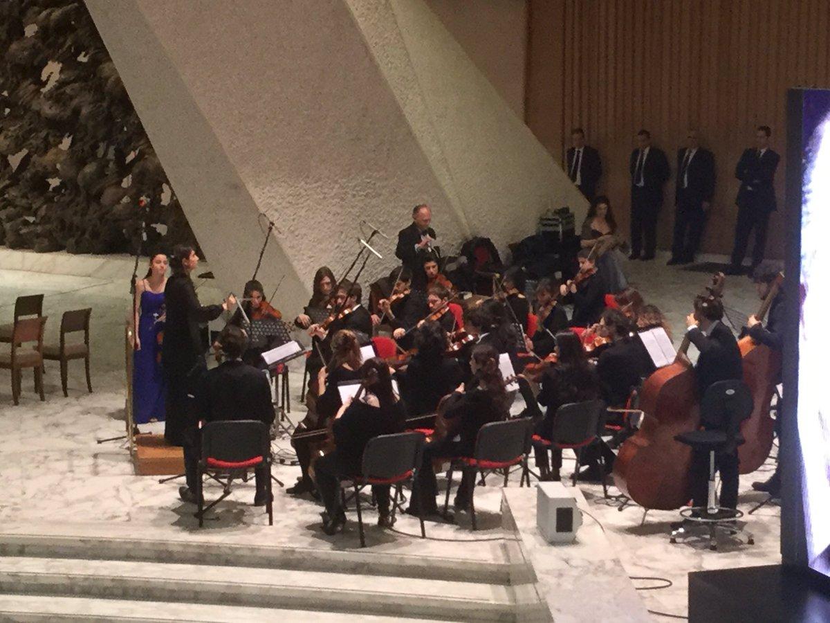 Testimonianze d'impresa e #musica con Orchestra conservatorio Santa Cecilia: anche questo è  #GiubileoIndustria https://t.co/2HcbJhDfPX