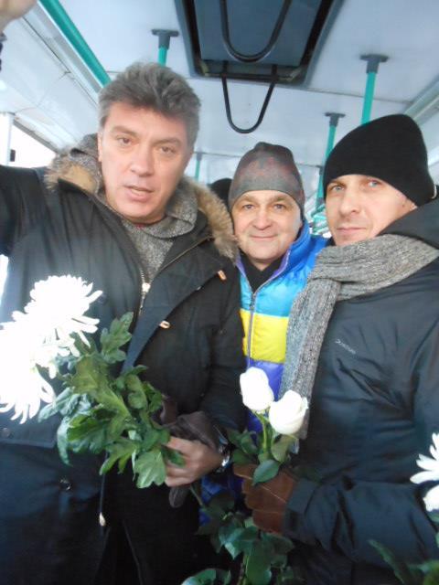 Акция в память Немцова проходит в Самаре - Цензор.НЕТ 833