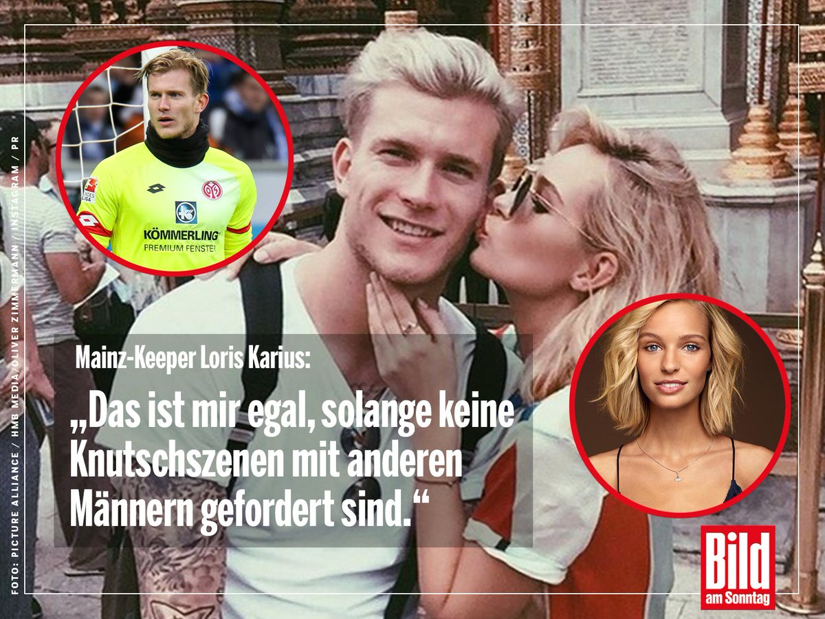 Bundesliga torwart loris karius liebt parship model for Loris karius freundin