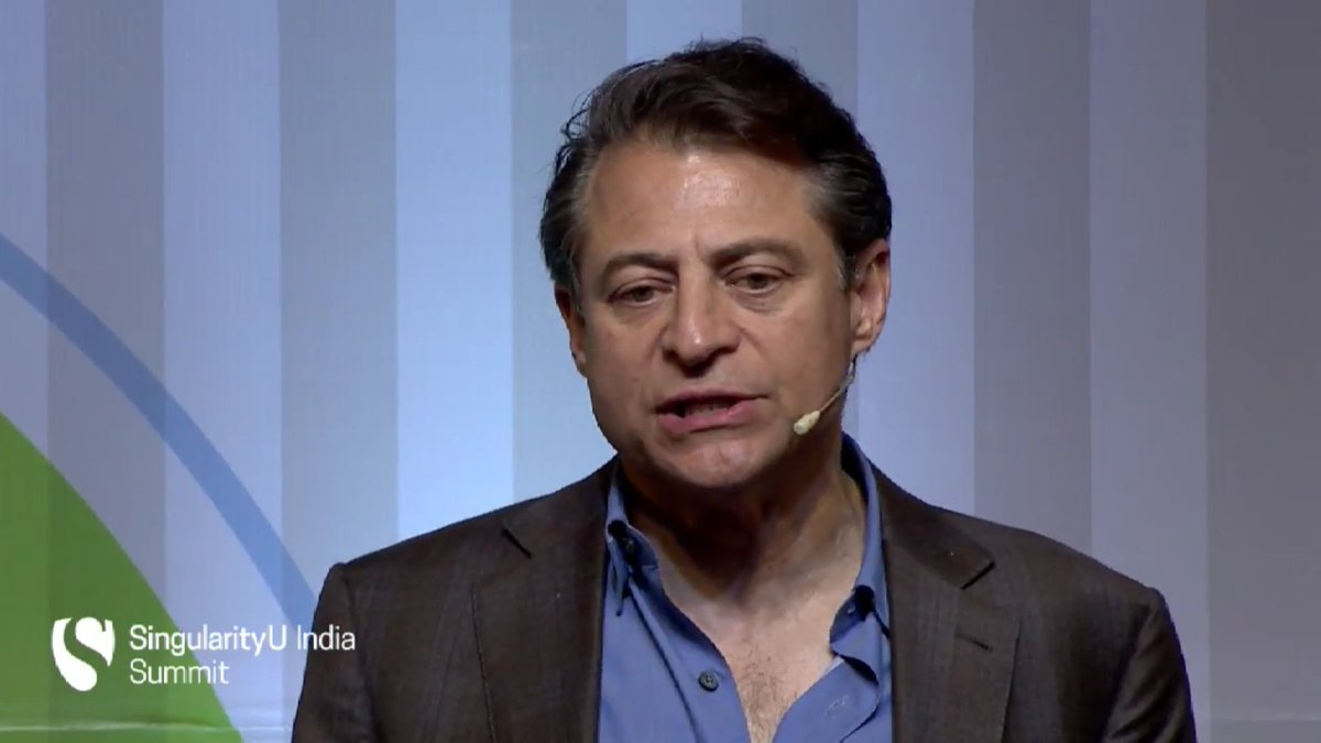 #Conversations at #SUIndiaSummit are radically different from what we have in our daily lives @PeterDiamandis https://t.co/LZwk5rzMrc