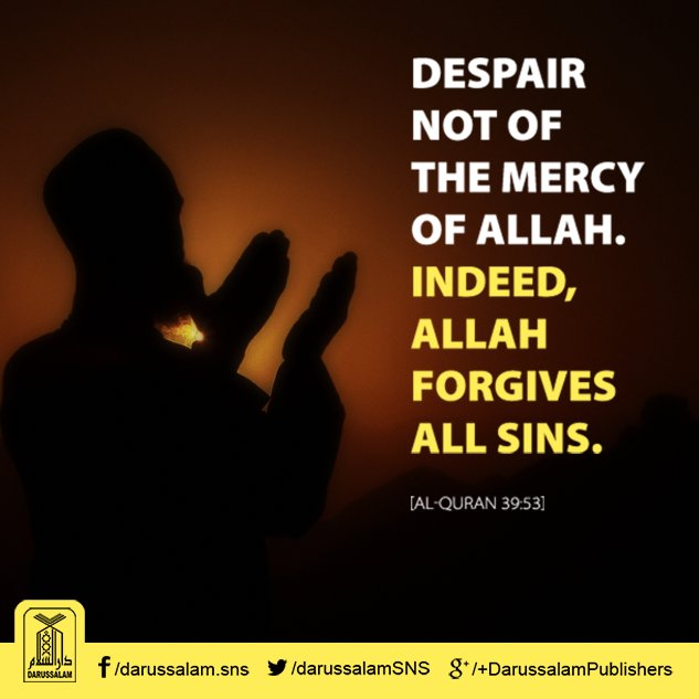 Darussalam Publisher On Twitter Allah Forgives All Sins