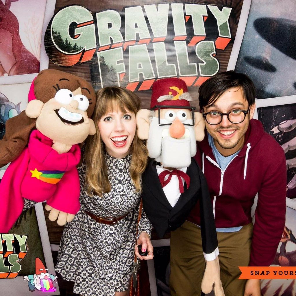 daron nefcy on twitter some pictures from the gravity falls wrap