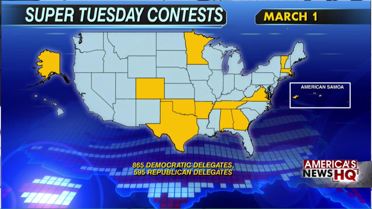 Polls before Super Tuesday: Trump winning in every state expect Texas