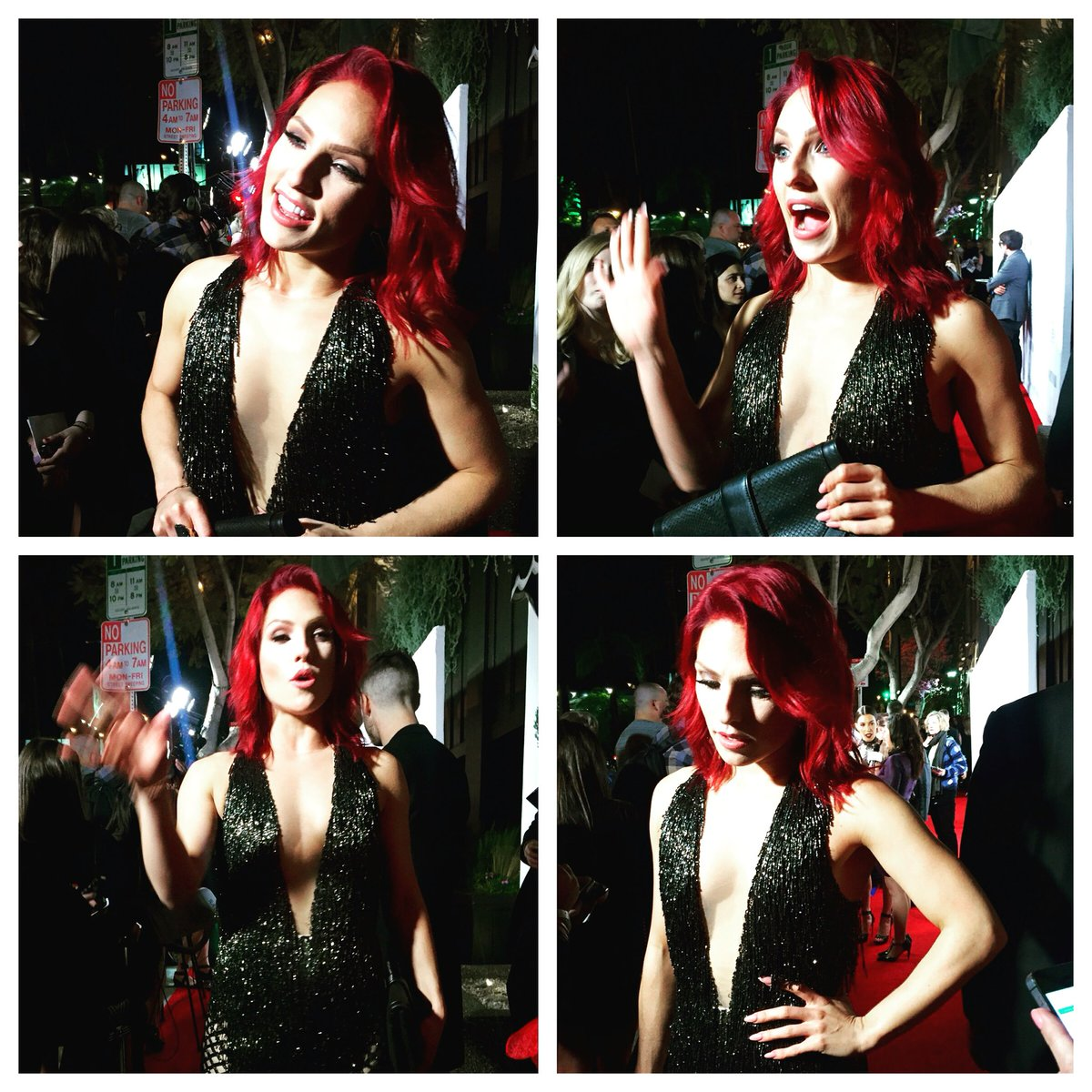 About last night! Loved @SharnaBurgess @VanityFair event @VFsocialclub @LOrealParisUSA #VFSC #lorealista #DWTS https://t.co/xDihSMj6a2
