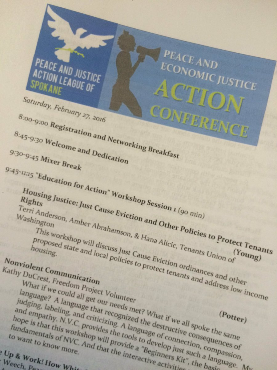 #PJALS Peace and Economic Justice Action Conference! https://t.co/OnQaOAXYro