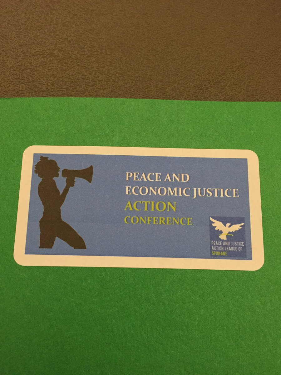 Excited for the Peace and Economic Justice Action Conference today! #pjals #workingtogether https://t.co/55HQ0T51w6