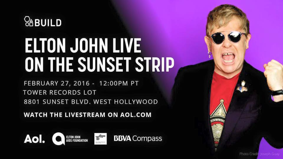 Lady Gaga. Elton John. FREE CONCERT TODAY https://t.co/EYXcTqmls5