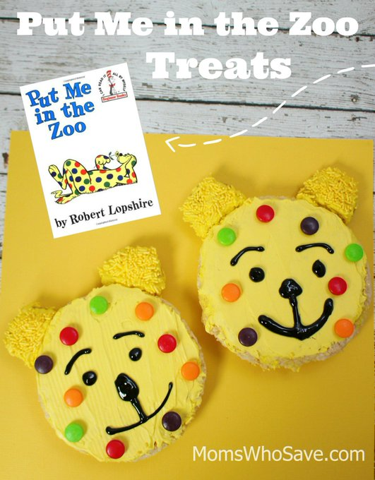 Put Me in the Zoo Book PLUS Rice Krispie Treats