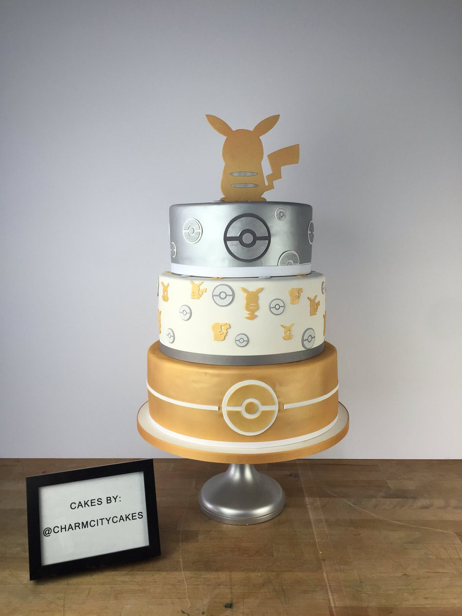 It's Pokémon Day! We made a special cake to celebrate 20 years of this amazing franchise. #PokemonAfternoonSoiree https://t.co/eb8RlmLZRH