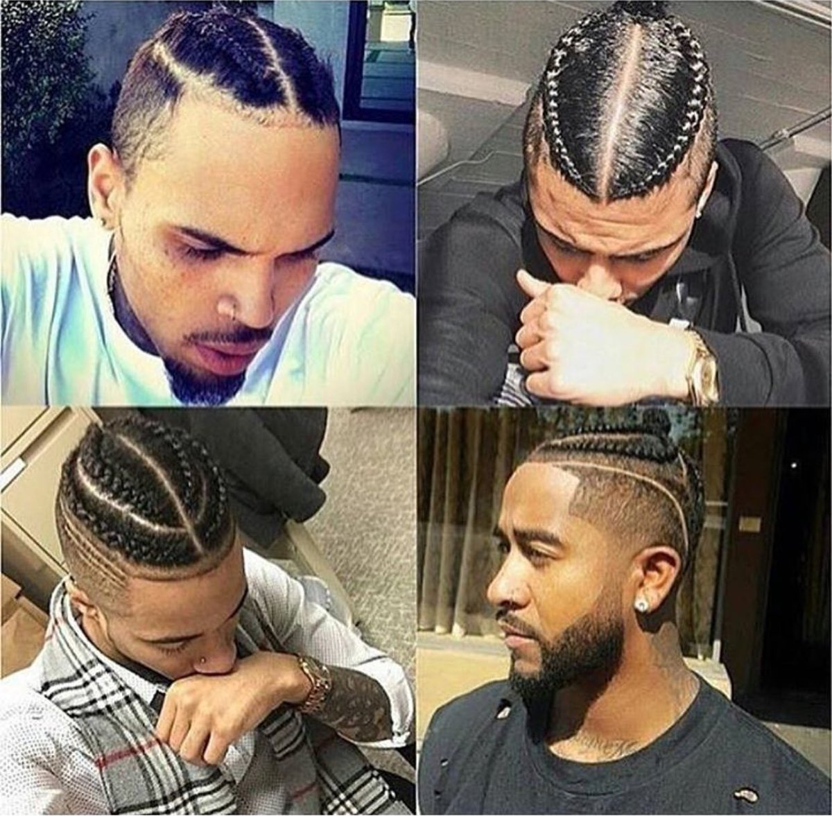 What Do You Y All Think About Cornrows Braids On Men