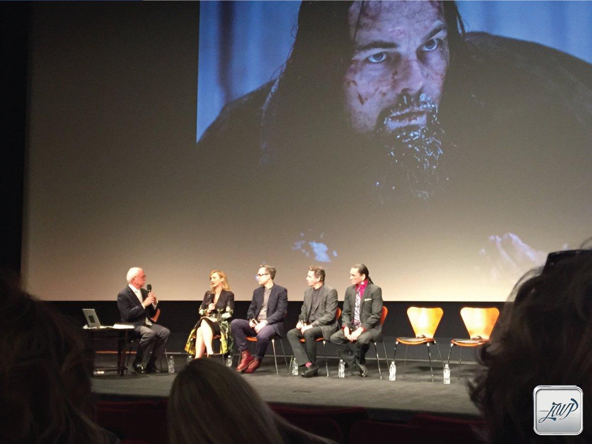 Surrounded by #Oscar winners and nominees...Amazing! @RevenantMovie Hair/Mu  #SiânGrigg #DuncanJarman @PandiniRobert https://t.co/baGLDWxzYH