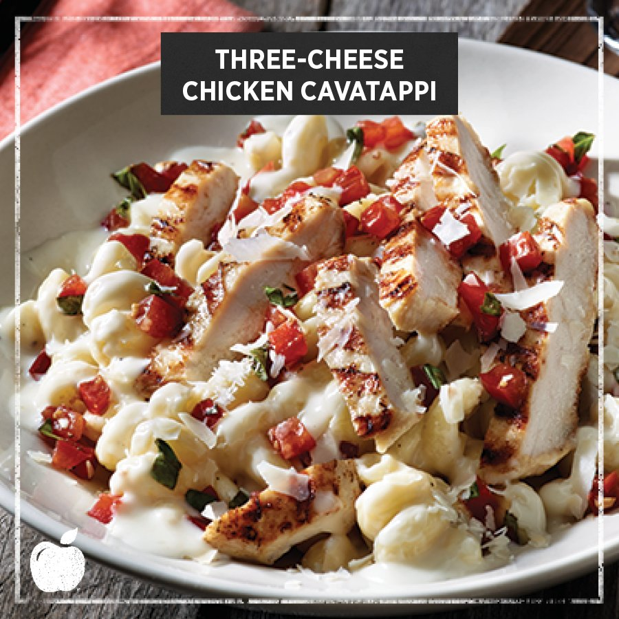 ... Three-Cheese Chicken Cavatappi, for a limited time only. https://t.co