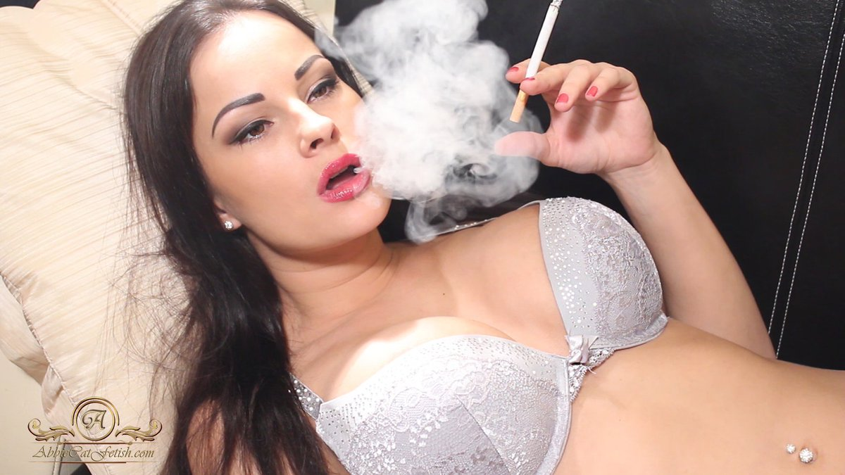 Smoking Fetish Sex Threesome