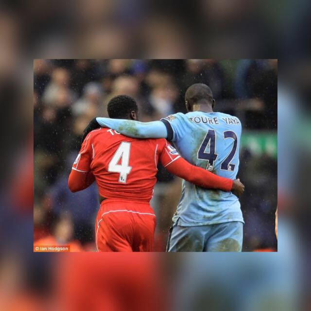 Big fight between the Toure family.I want to hear the Toure song as loud as possible tomorrow.Let the best team win.