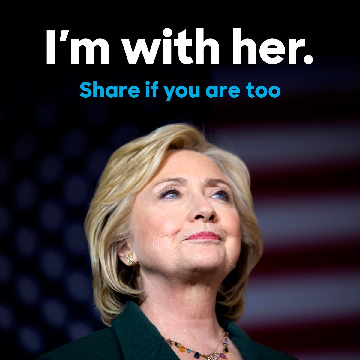 #ImWithHer RT @HillaryClinton RT if you're standing with her all the way to the White House. https://t.co/hDIusY46o7