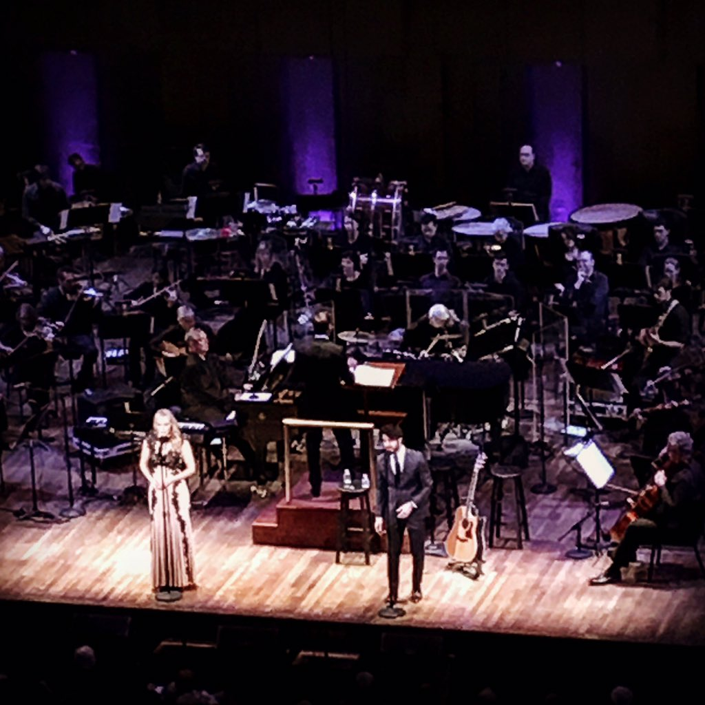 Broadway Today with @DarrenCriss @BetsyWolfe confirms my thought that everyone deserves an orchestra. #dc https://t.co/svPWlsuFsa