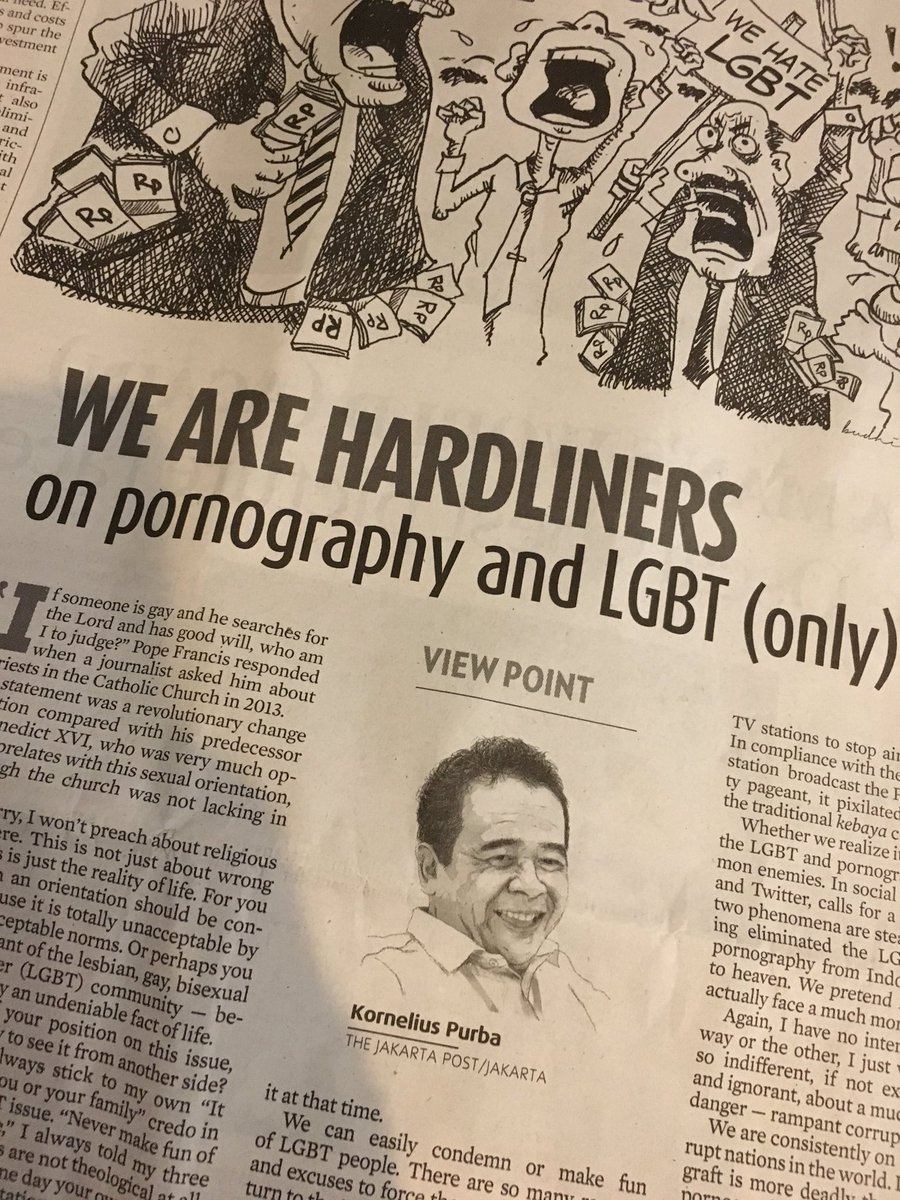 """We get very noisy about pornography,LGBT, but why are we so quiet on corruption or gross human rights violation?"" https://t.co/lTZkj3S75H"