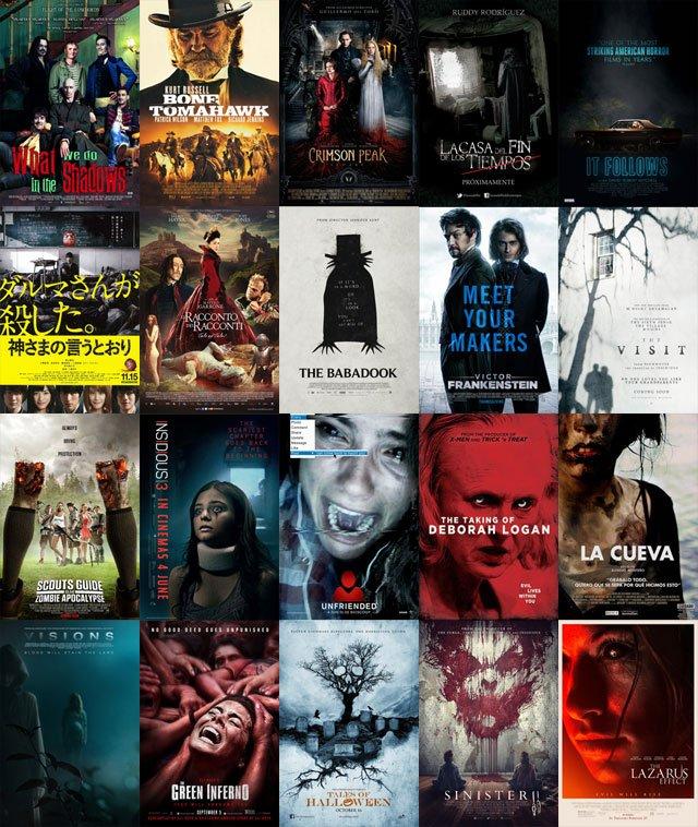 Ужасы 2015 2016 список  самые страшные фильмы ужасов