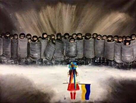 Марш протеста против российской агрессии в Украине: Париж - Цензор.НЕТ 7011