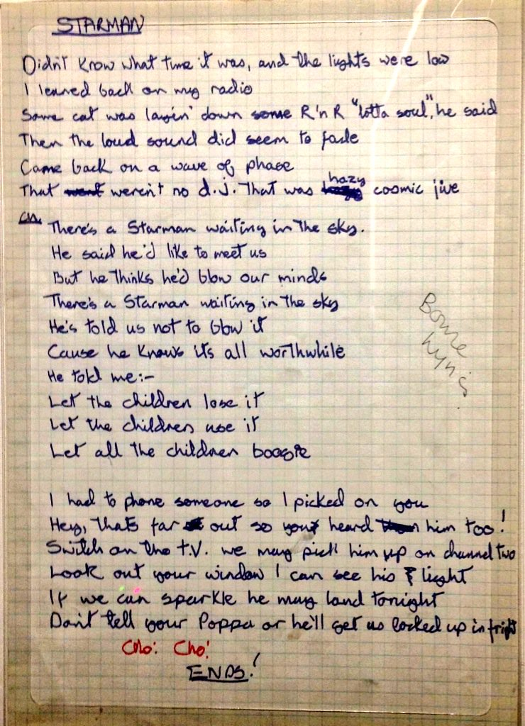 Songtext von David Bowie - Oh! You Pretty Things Lyrics