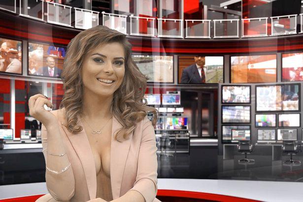 Nude news readers