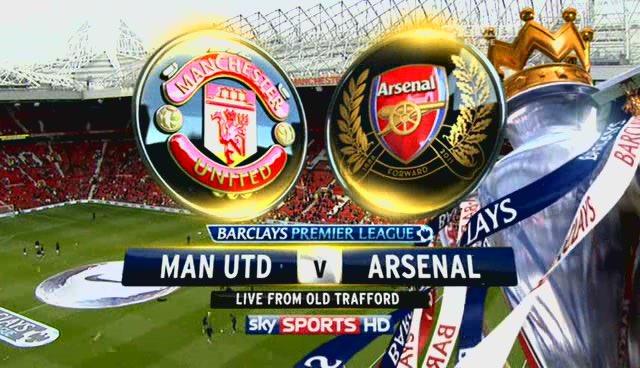 Xem lại trận kinh điển Man Utd vs Arsenal, 28/08/2011