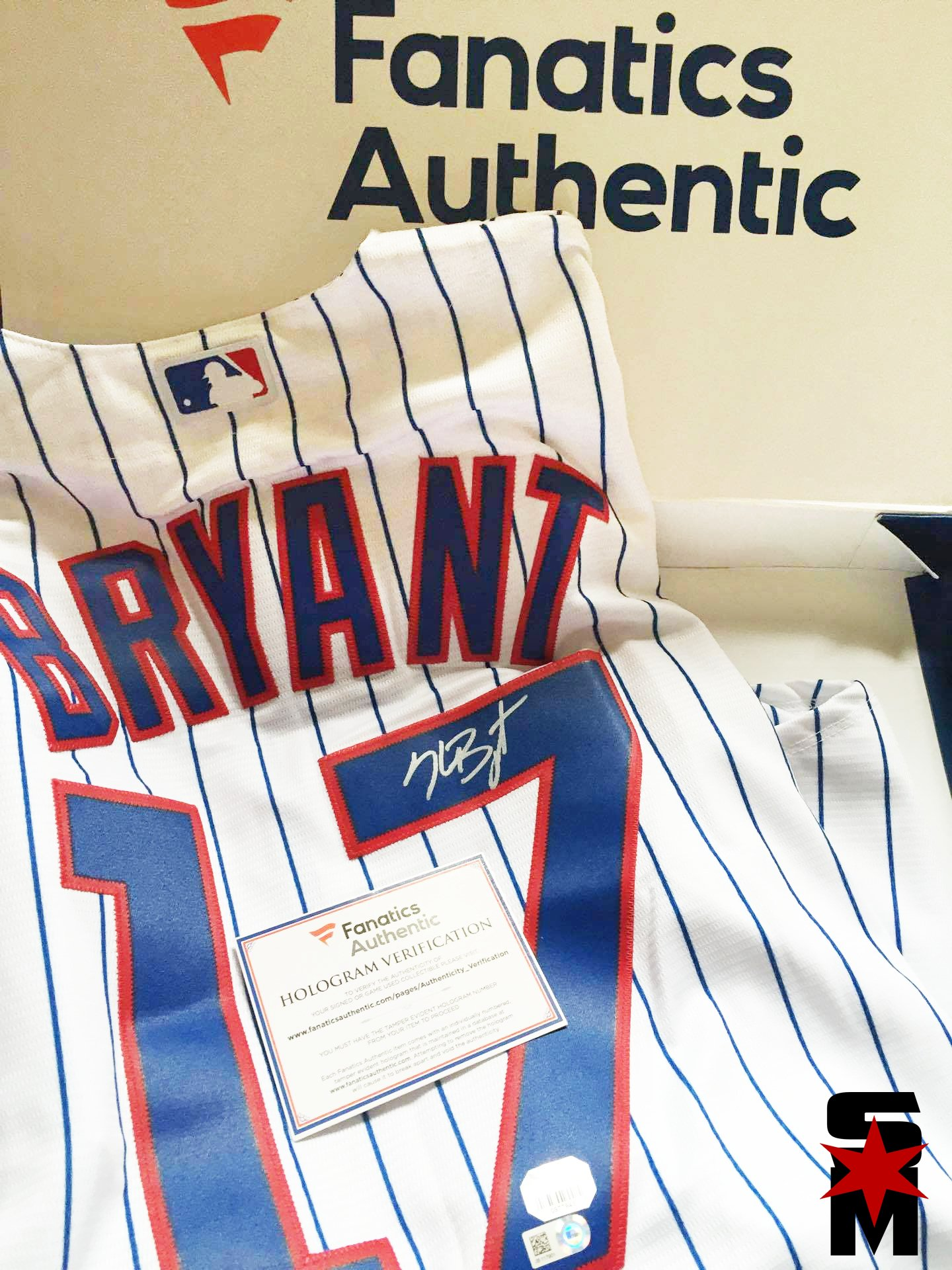 WINNER Of Free Autographed Kris Bryant Jersey Announced!! 0a8c0245a