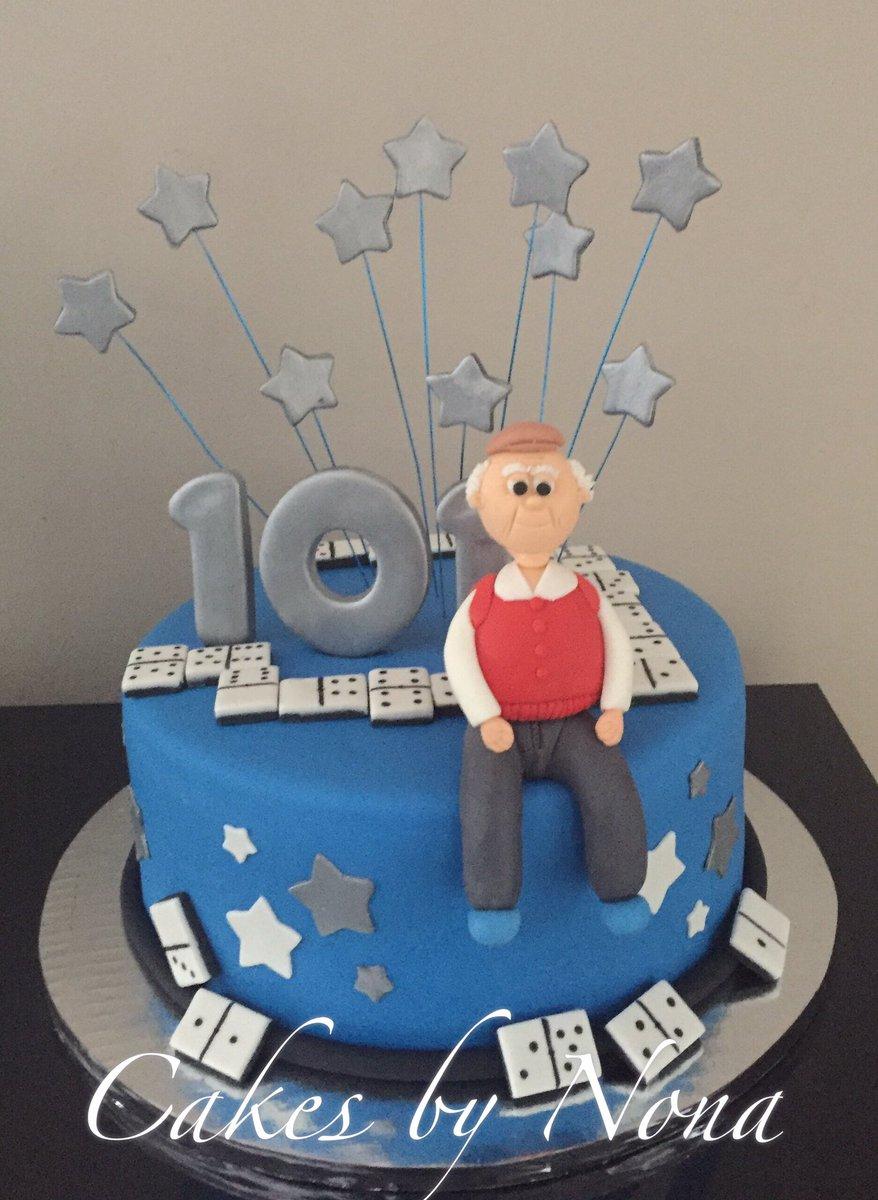 Cakesbynona on Twitter Grandpas 101st Bday cake cakeart
