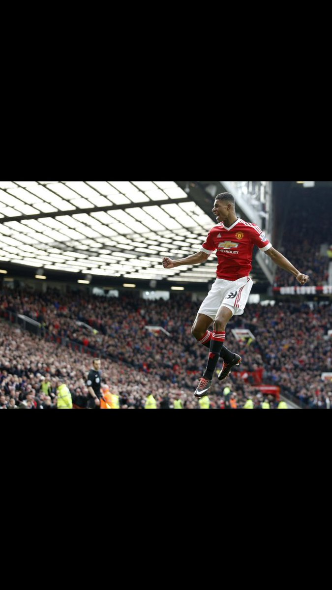 Fantastic result! Absolutely buzzing for this guy #MarcusRashford. What a week he's had! ⚽️🔴 @ManUtd