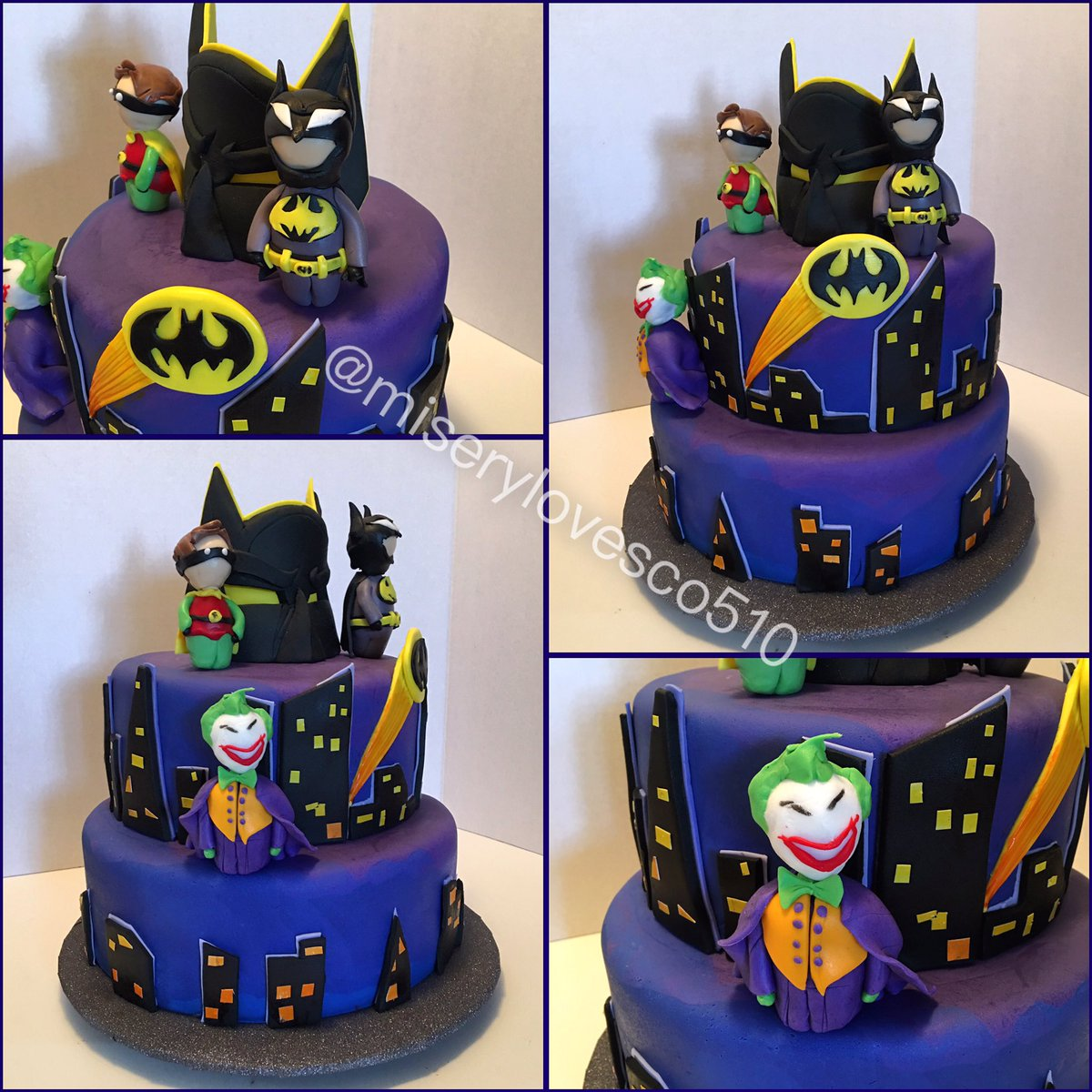 Strange Misery Loves Co On Twitter Batman Babyshower Cake Robin Personalised Birthday Cards Vishlily Jamesorg