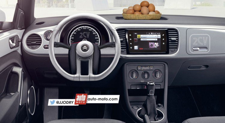 """Extrem Julien JODRY on Twitter: """"Insolite – Nouvelle #Citroën #2CV (2017  CM69"""
