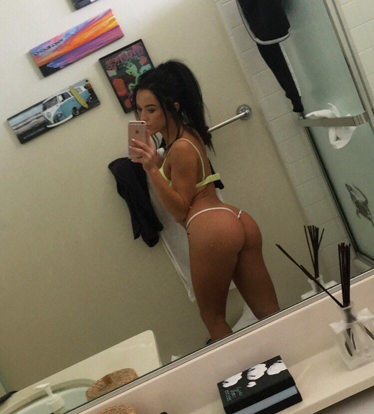 Megan rain selfies