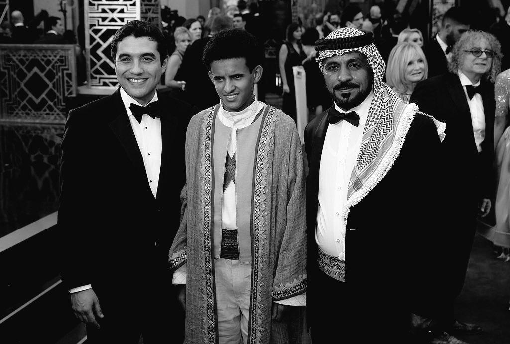 Congrats #Theeb in our eyes you guys are Winners tonight #JO #VisitJO #Oscars #Oscars2016 https://t.co/DUwnVryOUF